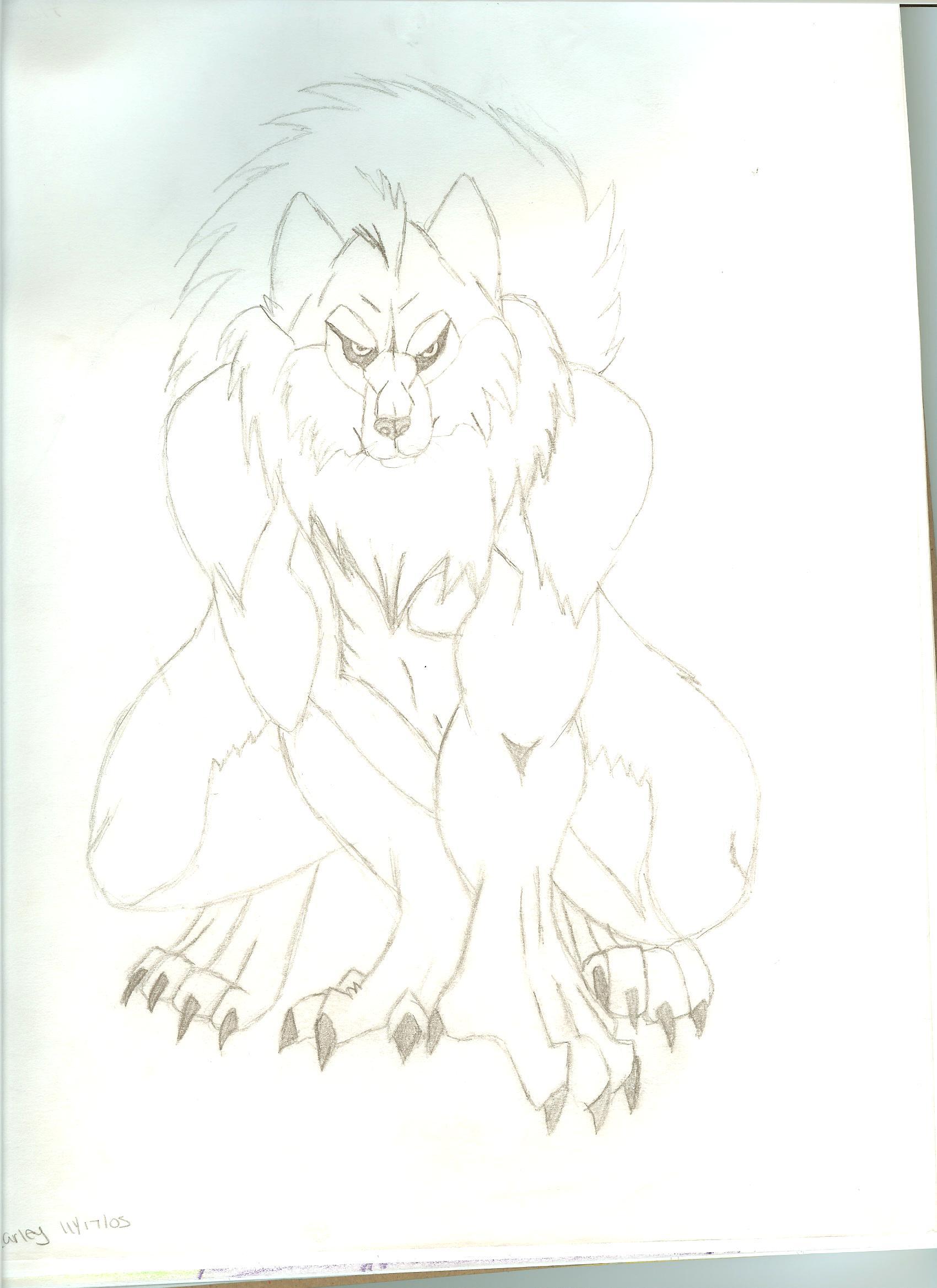 werewolf by sesshy_lil_gurl
