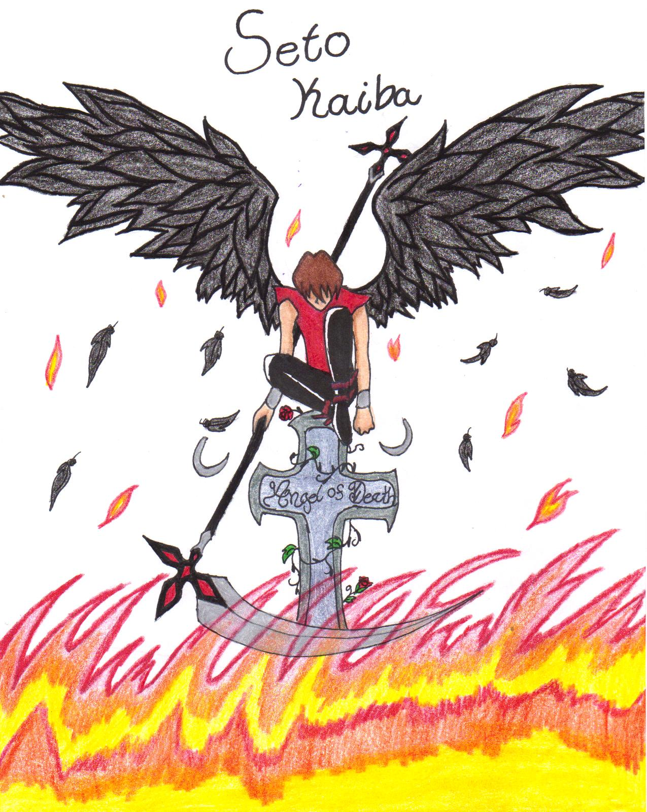 Angel of Death by setoXyamiKaiba4ever