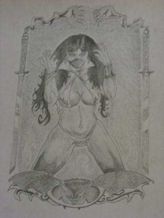 Vampirella by setzaroth
