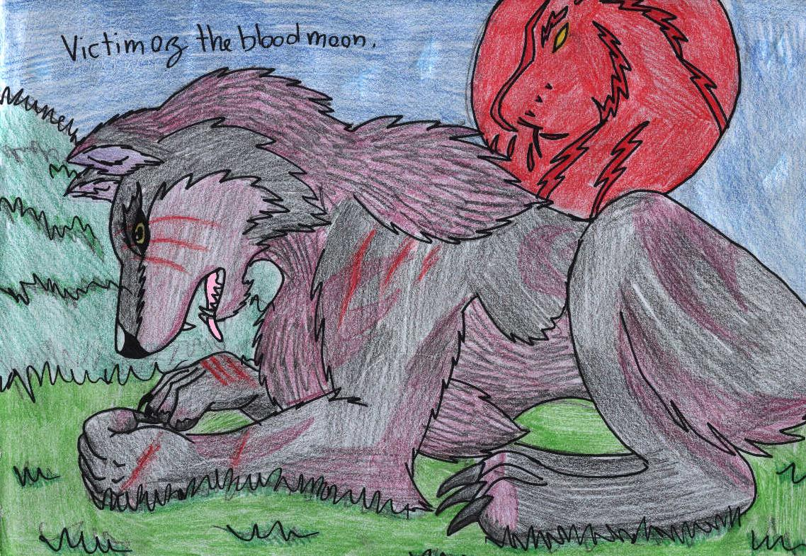victim of the blood moon by shadow_wolfie