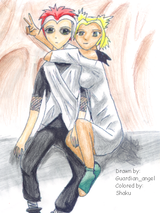 Guardian_angel and shaku Cosplaying by shaku
