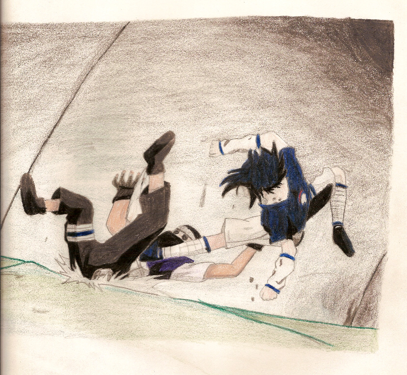 Lion's barrage by sharingan_sisters125