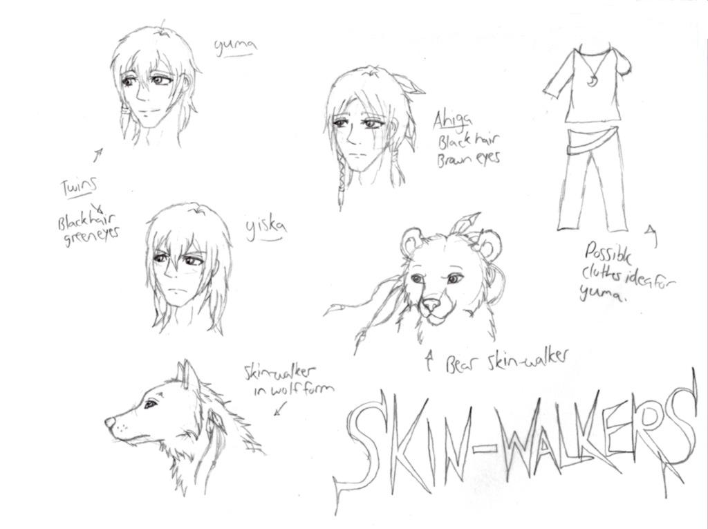 Skin-walkers concept by sharp-fang
