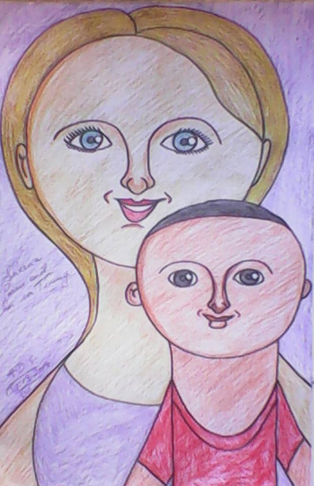Mother and Son by sheppardadrian1982