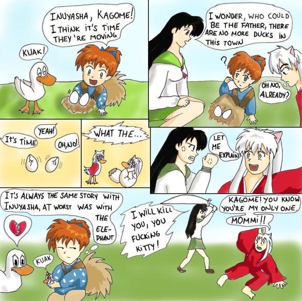 !Inuyasha(comic)! by sheyla