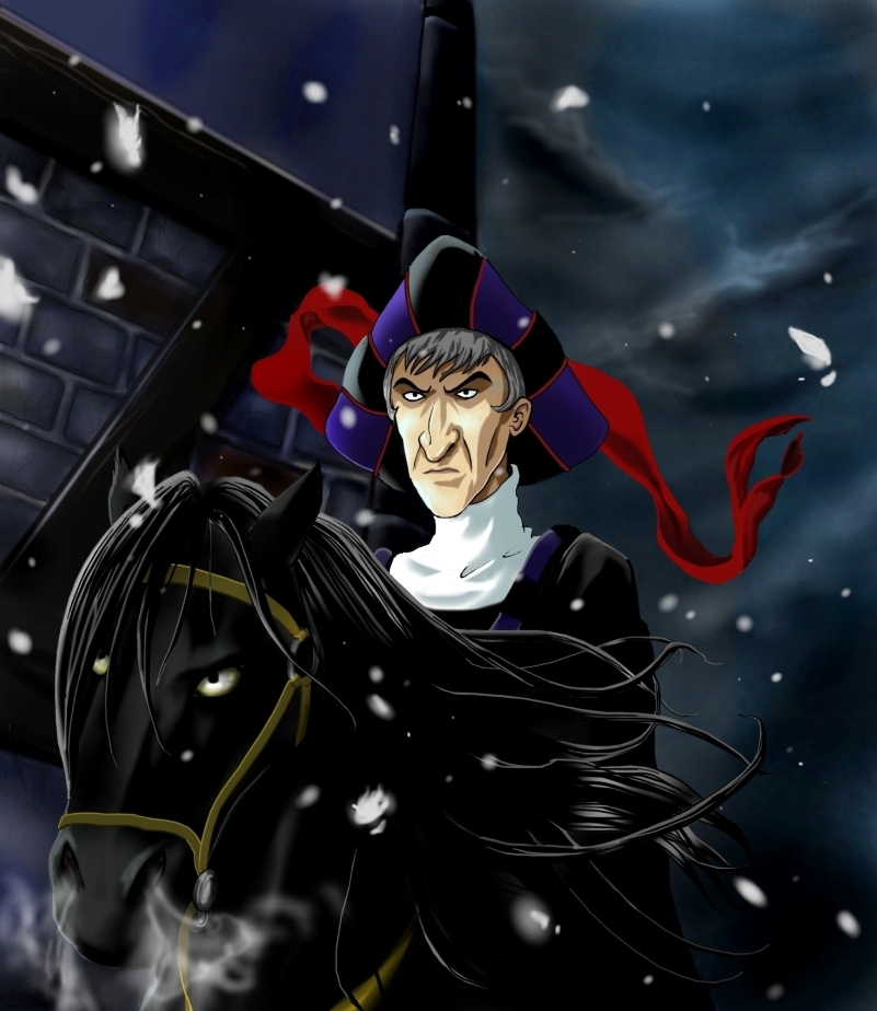 Claude Frollo by sheyla