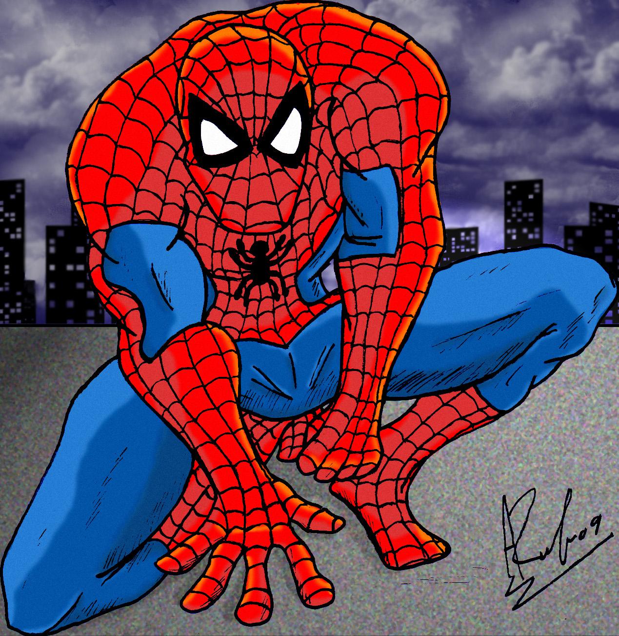 spiderman by shinka