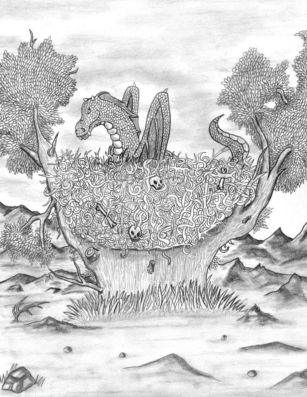 Drtagon nest by shinka