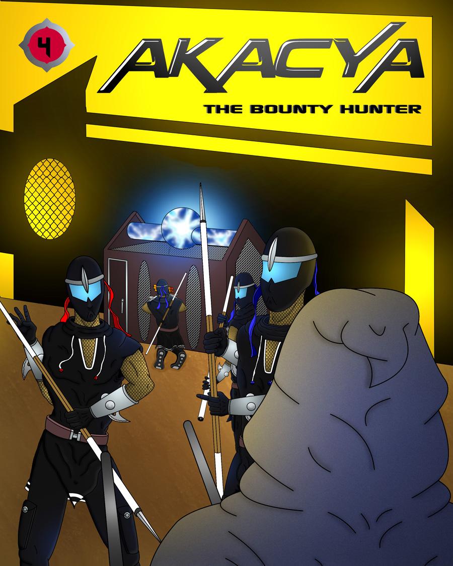 akacya the bounty hunter. Cover chapter 4 by shinka