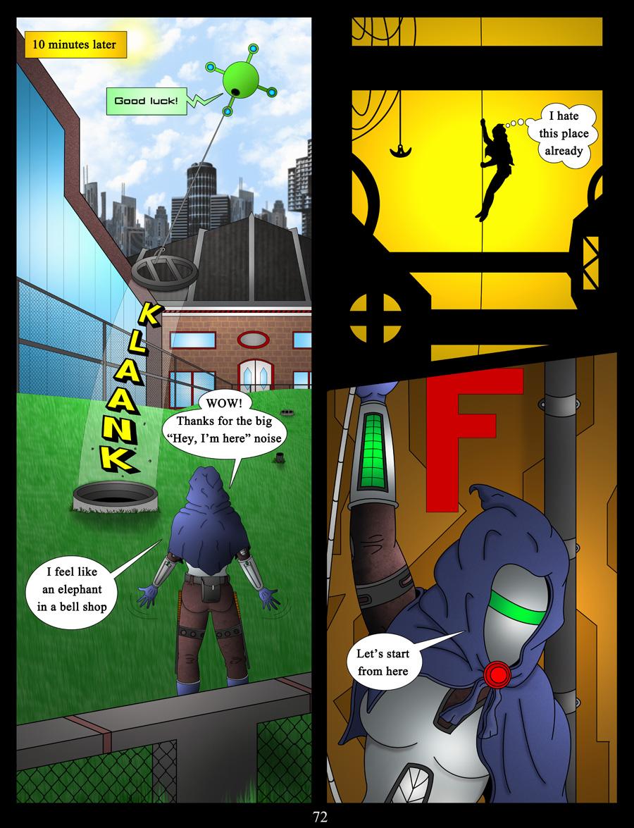 akacya the bounty hunter page 72 by shinka