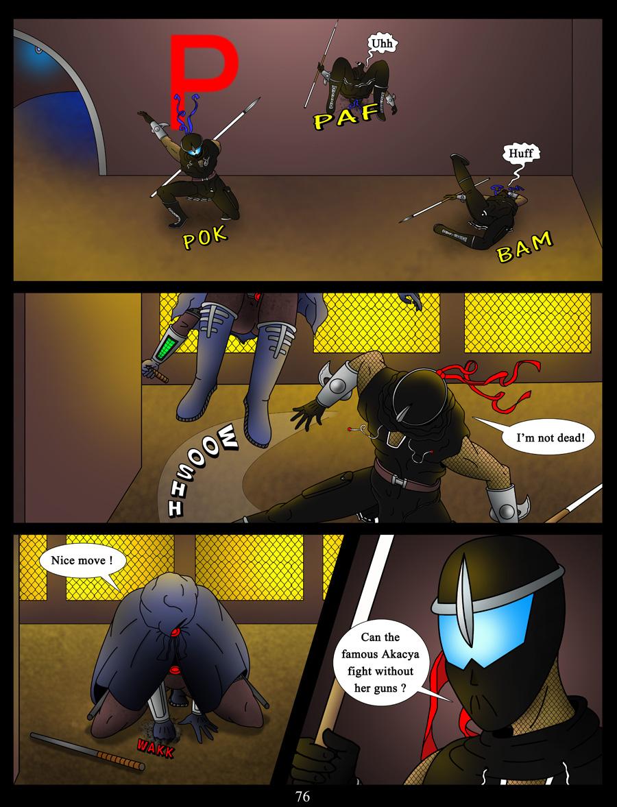 akacya the bounty hunter page 76 by shinka