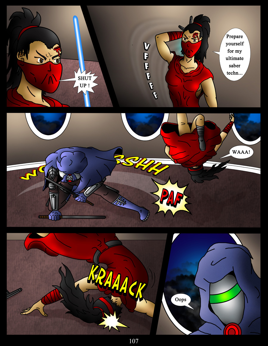 akacya the bounty hunter page 107 by shinka