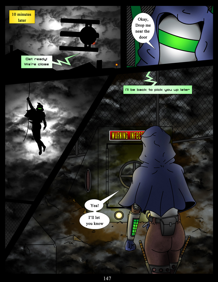akacya the bounty hunter page 147 by shinka