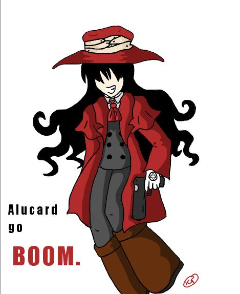 Alucard chibi go boom by shinsei