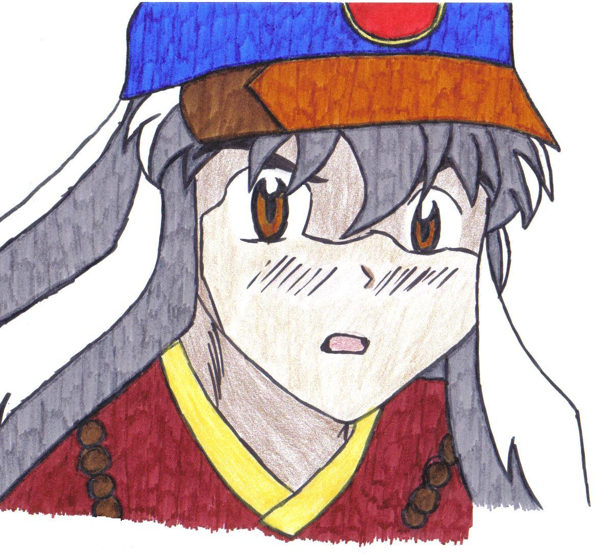 inuyasha hat dude by shipp_shippo