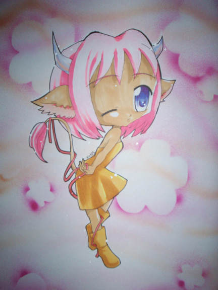 Chibi Taurus by shoujoneko