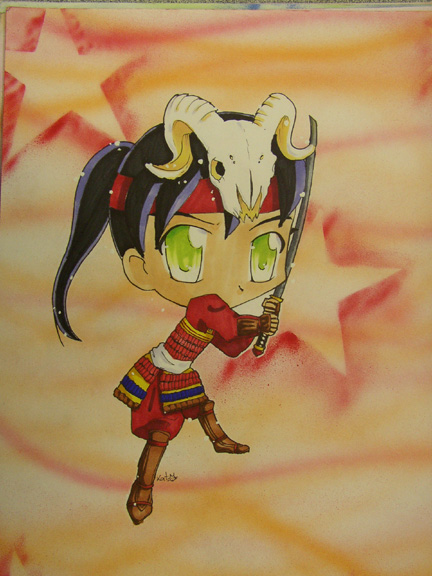 Chibi Aries by shoujoneko