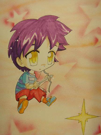 Chibi Sagittarius by shoujoneko