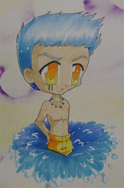 Chibi Aquarius by shoujoneko