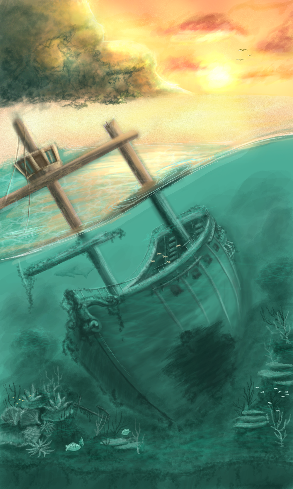 Shipwreck by silly_rules