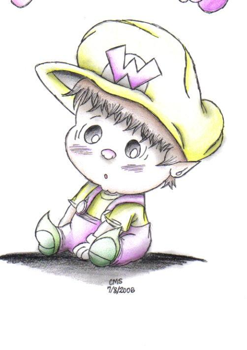 Baby Wario by sillysimeongurl