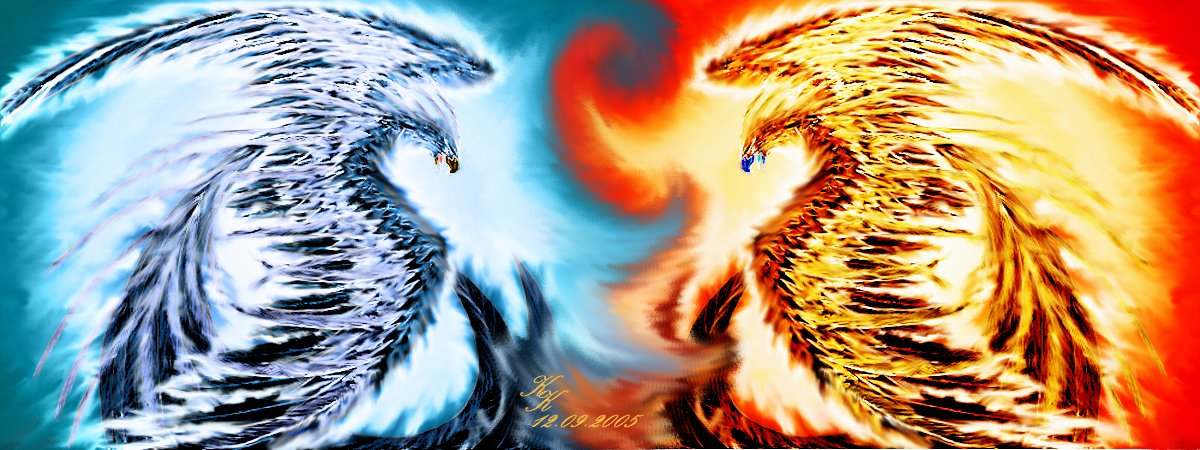 ice and fire by silver_dragicorn