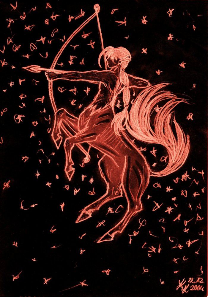 sagittarius by silver_dragicorn