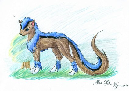 blue cilly by silver_dragicorn