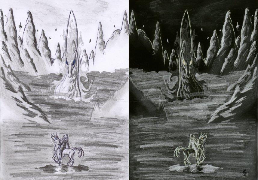 shadow-dragon by silver_dragicorn