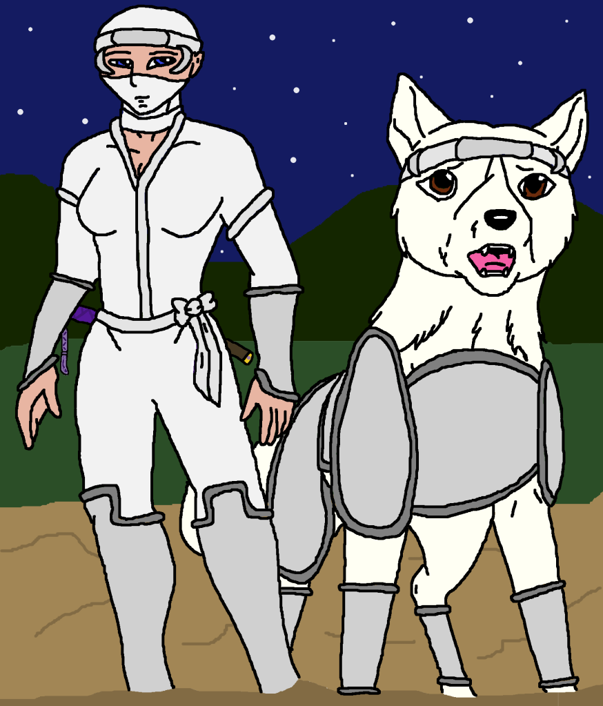 Umi and Numa by silvereye