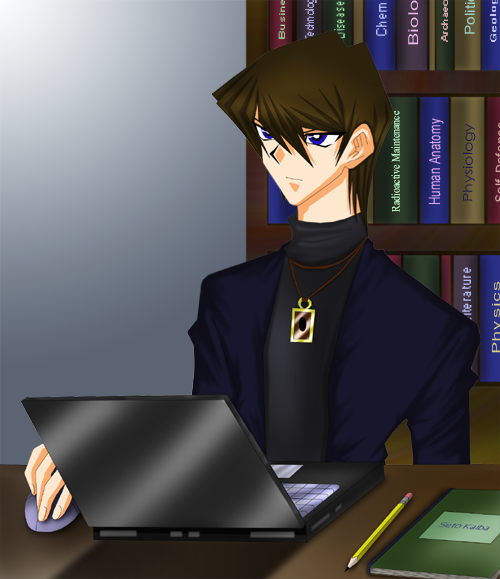 At the College Library by silverstar