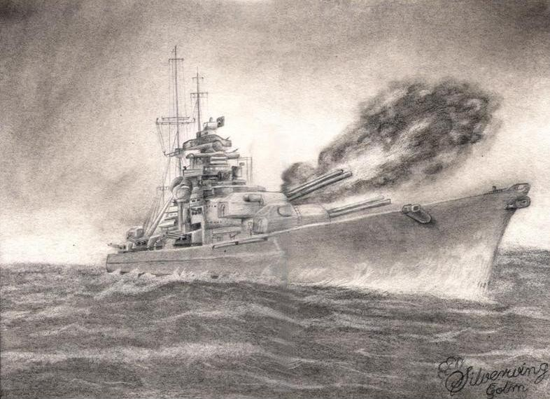 Warship I by silverwing2006