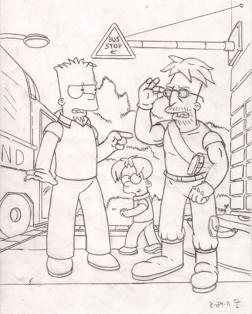Bart and Bob, 12 years later by simpspin