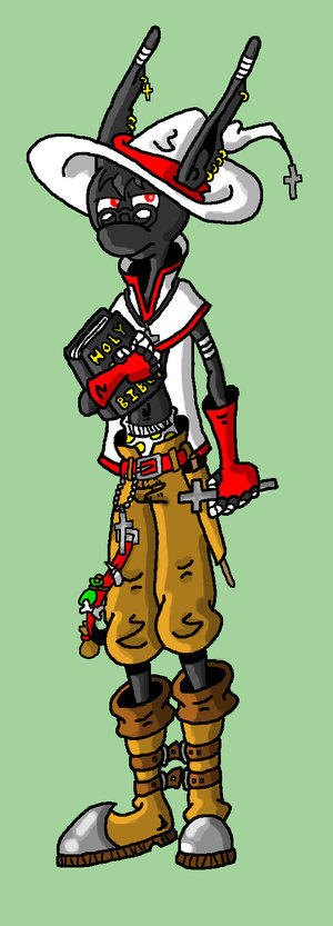 Good Priest, Bad Priest by sirflammingofcorn