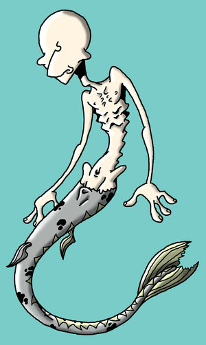 Mavis the mer...thing by sirflammingofcorn