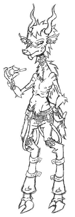 Lonny sketch by sirflammingofcorn