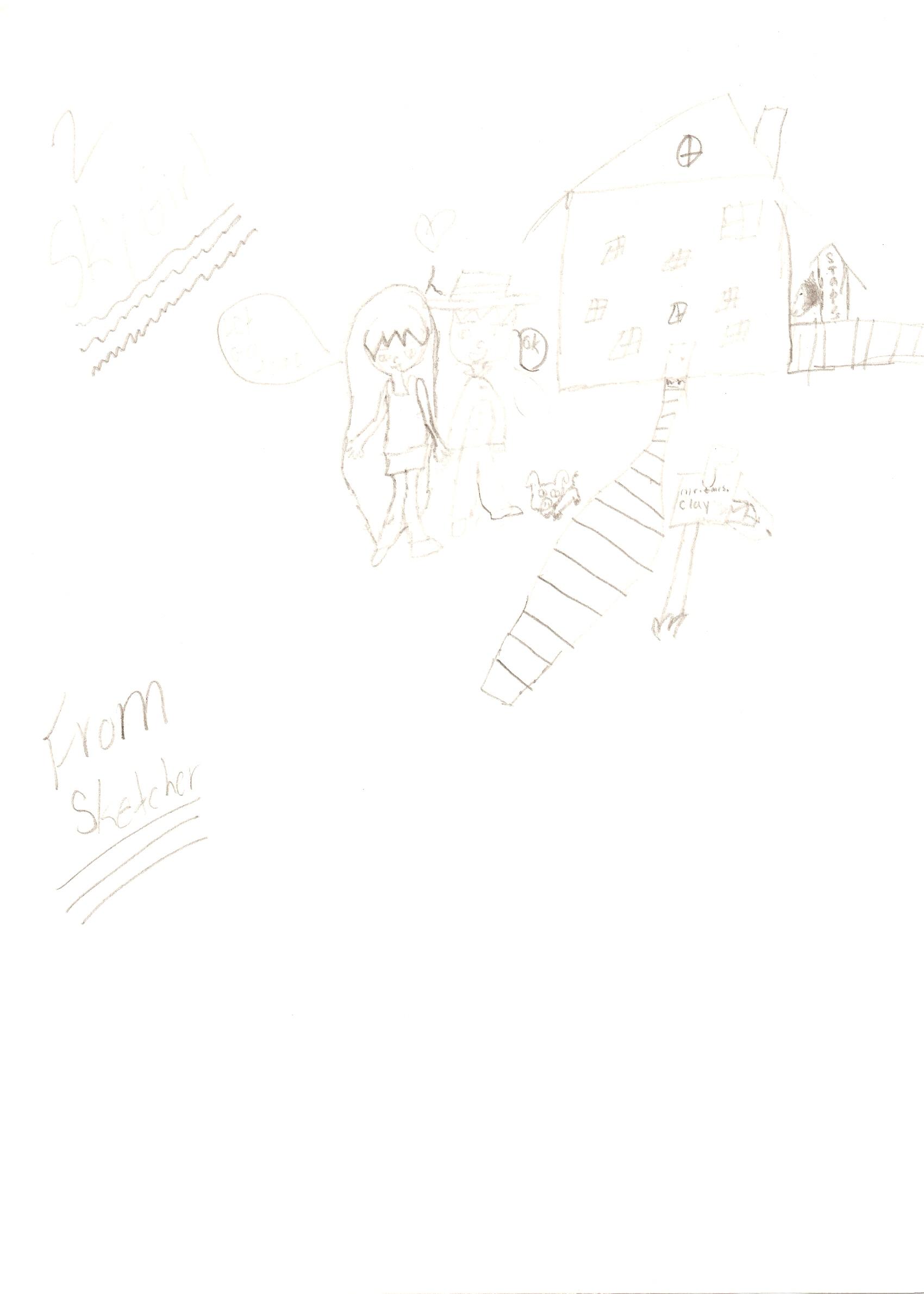 Skygirl by sketcher36