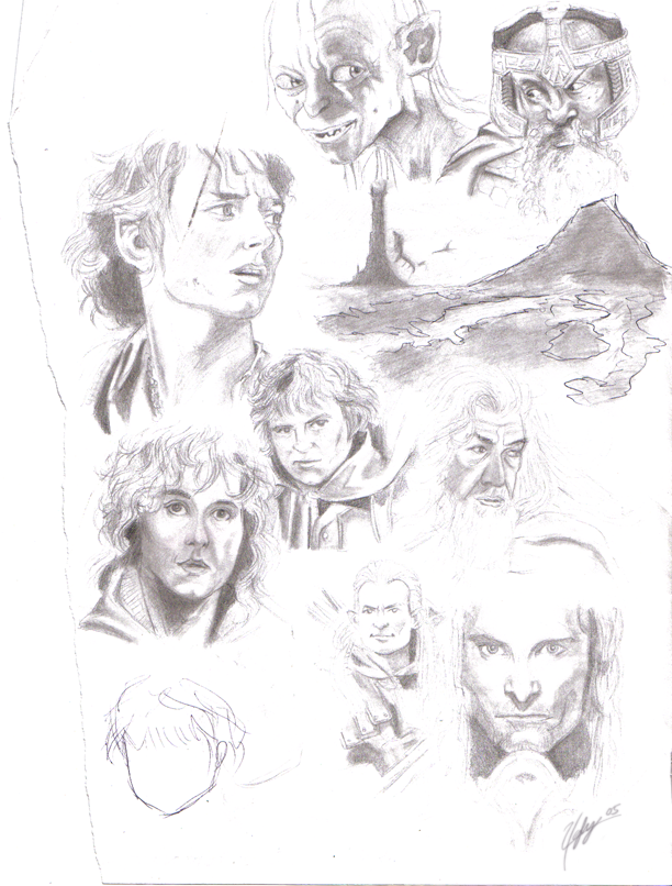 Lord of the Rings by snakevocelot