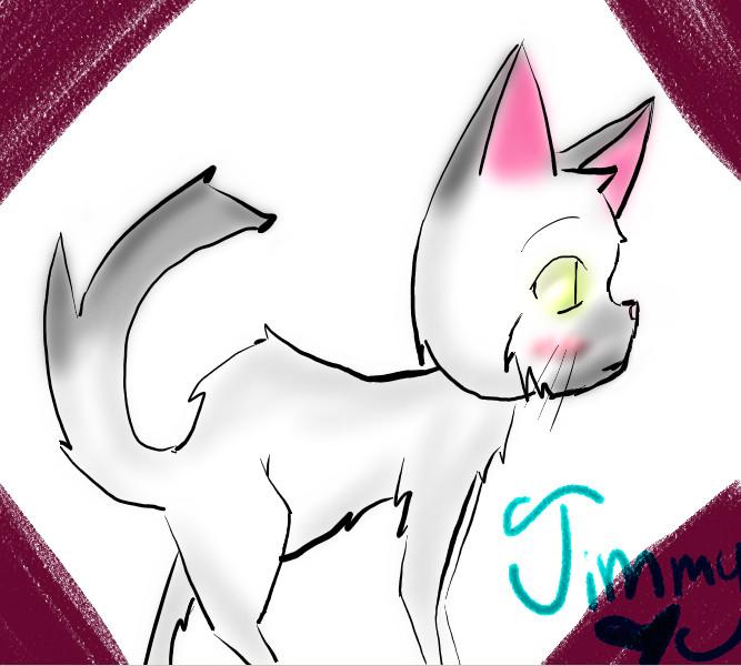 Jimmy dah kitty~ by snowieXchan