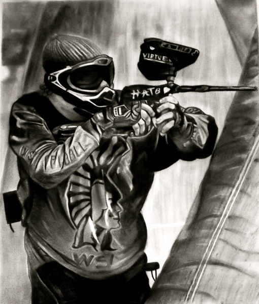 Paintball by snwboardgirl