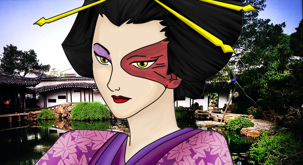 Fire Geisha by sola