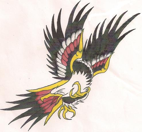 Another Eagle by soldadoporvida