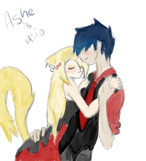Ashe and Hiro by sonamylover