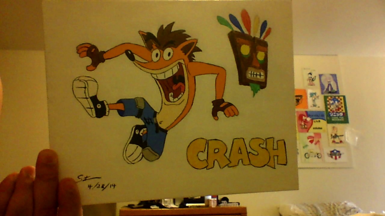 Crash Bandicoot by sonic89