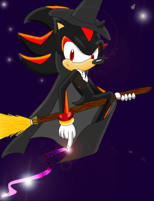 Shadow the Wizard by sonicgirl