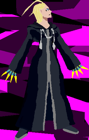 Larxene On MS Paint by sonicparade