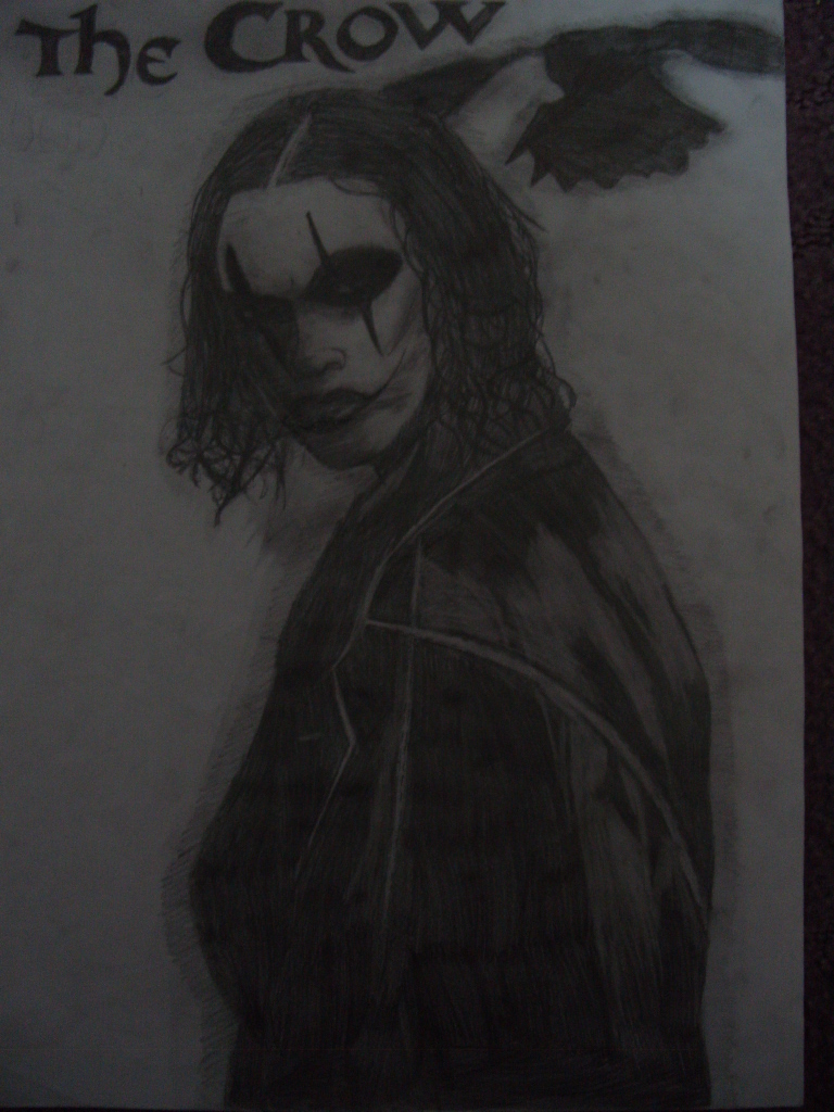 the crow by sonicshadowknucklesfan