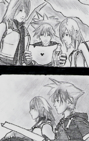 KH2 ending by sora_RIKU_12