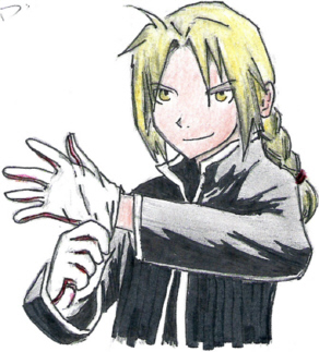 The Fullmetal Alchemist by sora_RIKU_12