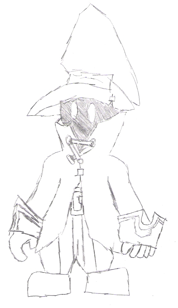 vivi pen sketch by sora_strife
